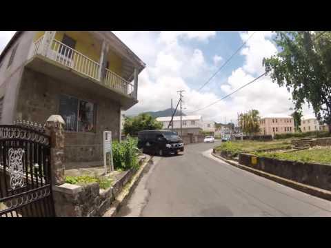 A short ride through Charlestown, Nevis