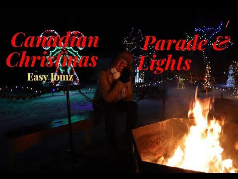 Christmas Parade & Lights | Leduc Country Lights | Pinoy in Canada