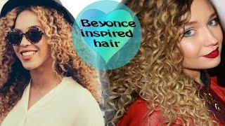 Мелкие кудряшки Бейонсе.Афро кудри.Beyonce hairstyle/curls.