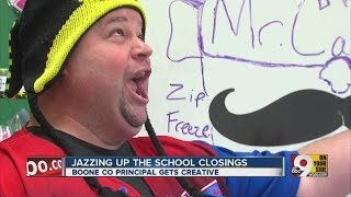 Sing it! Principal delivers tuneful closing info