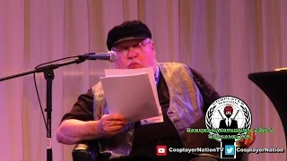 George R. R. Martin: The Winds of Winter Reading (Part 1) @ WorldCon 2015 by Cosplayer Nation
