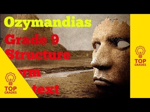 Ozymandias: Language, Structure, Form and Context for Grade 9