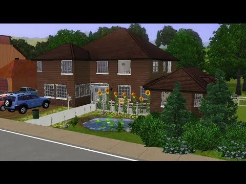 The Sims 3 House Building Perfect Family Home Youtube
