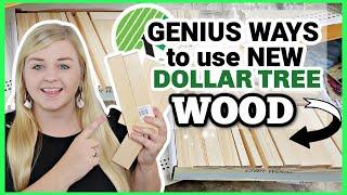 GENIUS Ways to Uṡe new Dollar Tree WOOD! | DOLLAR TREE FALL DIYS 2021 | KraftsbyKatelyn