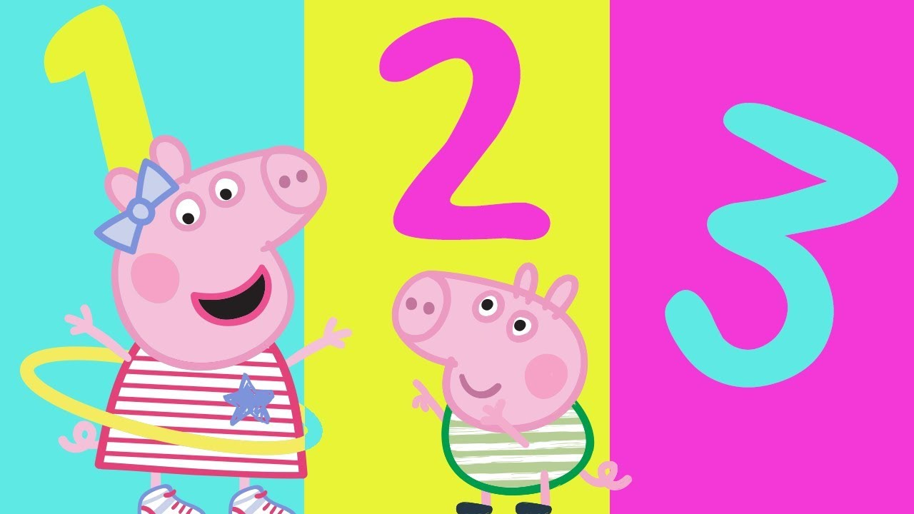 Peppa Pig Learn Numbers With Peppa Pig Learning With Peppa Pig Youtube