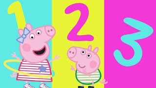 Peppa Pig - Learn Numbers With Peppa Pig - Learning with Peppa Pig