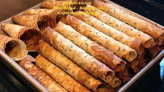 Cách làm Bánh Kẹp Cuốn _ Bánh Ốc Quế để được rất lâu vẫn giòn thơm ngon