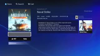 Battlefield 4 How To Download Naval Strike on Playstation 4