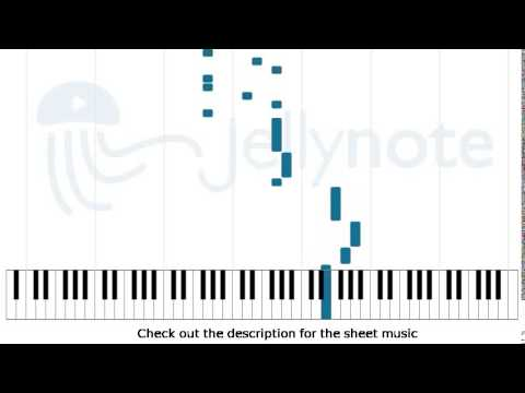 Cliffs of Dover - Eric Johnson [Piano Sheet Music]