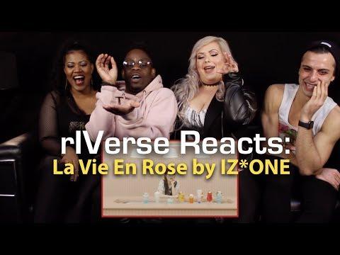 rIVerse Reacts: La Vie En Rose by IZ*ONE - MV Reaction