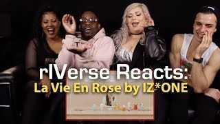 rIVerse Reacts: La Vie En Rose by IZ*ONE - M/V Reaction