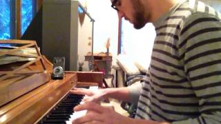 flying lotus never catch me piano cover