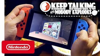 Keep Talking and Nobody Explodes - Pre-Purchase Trailer - Nintendo Switch