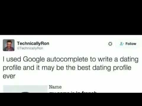 Google dating profile