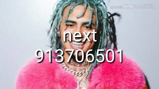 10+of the best lil pump roblox I'd codes of/(2019)/ 2020