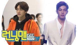 '관록 있는 워킹' 김재영, 현역 모델 포스 뿜뿜♥ 《Running Man》런닝맨 EP445