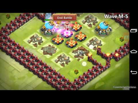 Castle Clash: Warlock In HBM And Crest Opening