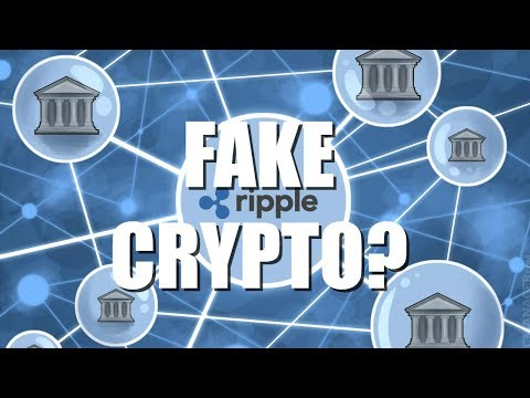 IS RIPPLE FAKE CRYPTO CURRENCY?