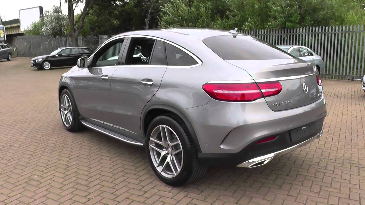 mercedes benz gle coupe gle 350 d 4matic amg line premium plus 5dr 9g tron u23585 youtube. Black Bedroom Furniture Sets. Home Design Ideas