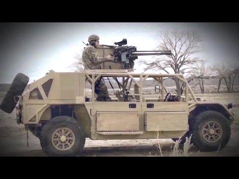 General Dynamics Ordnance & Tactical Systems - Flyer Gen III GMV 1.1 Advanced LSV [720p]