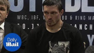 'He's a dangerous man': Usyk says about Tony Bellew after beating him