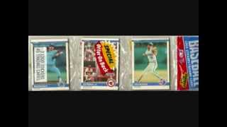 Cal Ripken Jr. Unopened Baseball Card Rack Pack Collection from 1982-1991 MOJO