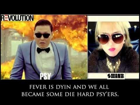 [INTERACTIVE LYRIC VIDEO]  Shin-B - PSY Revolution + Bubbles!