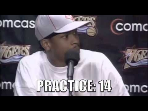 "Allen Iverson ""Practice"" (Counter) - YouTube"