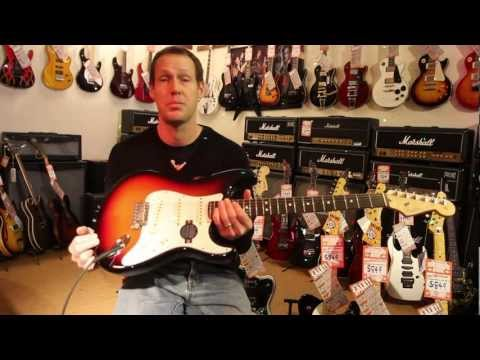 Fender 2012 USA Standard Stratocaster Electric Guitar Review at Derringers Music