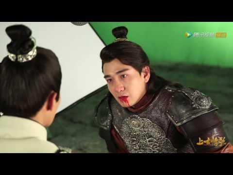 [HD] Zhai Tian Lin & Victoria Drama scene -《上古情歌》'A Life Time Love' BTS