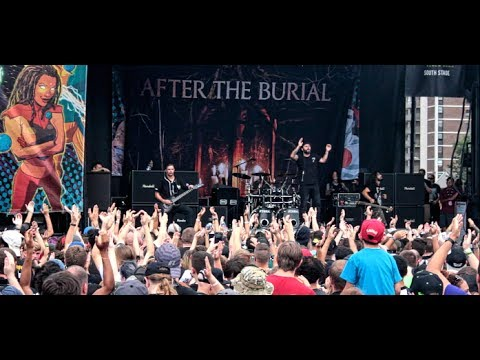 After The Burial - Full Set - 2017 Vans Warped Tour - Camden, NJ. 07/07/17.
