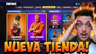 THE *NEW FORTNITE STORE TODAY 18 DECEMBER NEW SKINS AND BAILES Villaescusa7