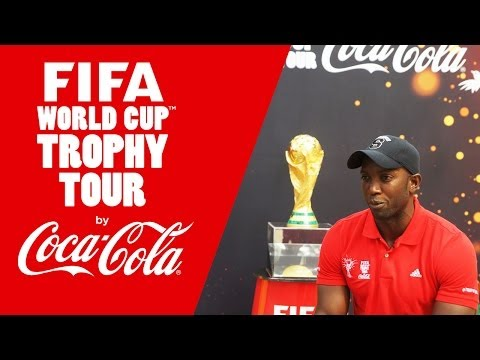 FIFA Ambassador Dwight Yorke: 'World Cup was the ultimate'