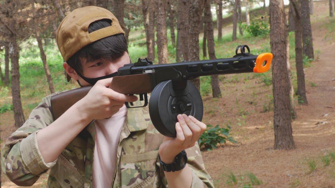 ??: 라떼는 말이야  SMG라는 건 없었어 따발총만 있을뿐(Snow wolf PPsh-41 EBB)