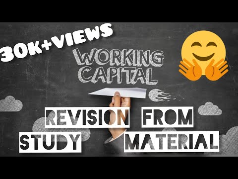 Working capital revision for exams@fm