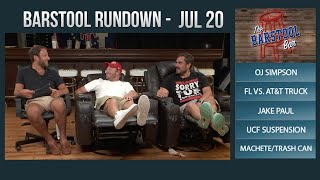 Barstool Rundown - July 20, 2017