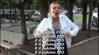 Il Pulcino Pio - Lyrics
