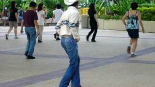 Singapore Cowboy Dancing at Imm 1
