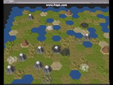 tile map civilization 5 glyph alpha hex tile based 4x game in unity 3d youtube