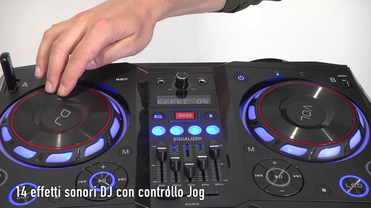 trevi xfest 450  XFEST ALTOPARLANTE AMPLIFICATO 400W TREVI XF 4200 DJ - YouTube