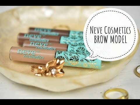 Neve Cosmetics - *BROW MODEL* (review & application)