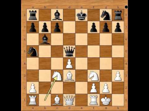 Mat lakim figurama - LANGE vs MAYET - Evans gambit # 707