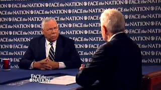 "Face The Nation with Bob Schieffer - Colin Powell: Dick Cheney takes ""cheap shots"" in new book"