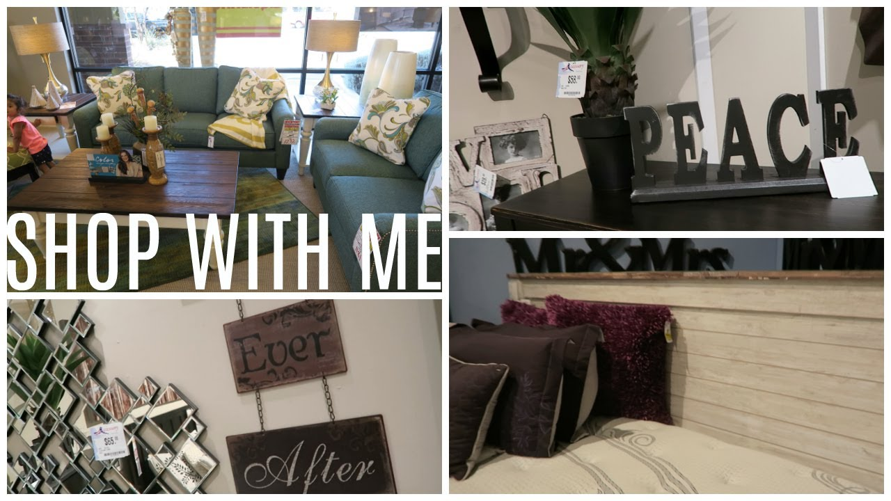 SHOP WITH ME FURNITURE AND HOME DECOR YouTube