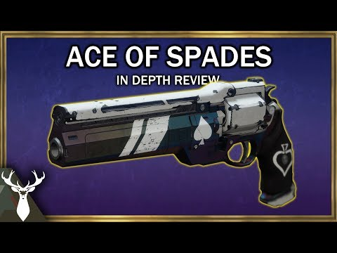 Destiny 2 - Ace of Spades - In Depth Review (Exotic Kinetic Hand Cannon) thumbnail
