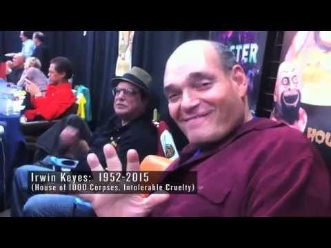 Two Late Greats:  Irwin Keyes and Jim Kelly together at Nuke the Fridge Con 2012