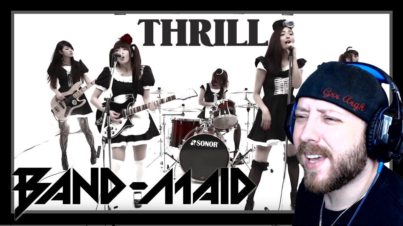 BAND-MAID / Thrill MV Reaction | Metal Musician Reacts