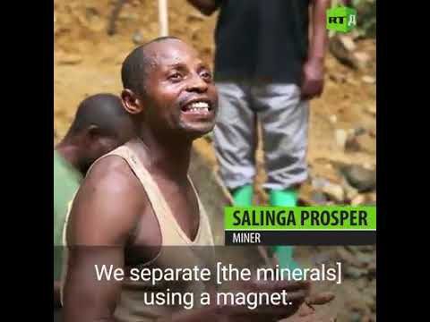 Coltan Mining In The DRC