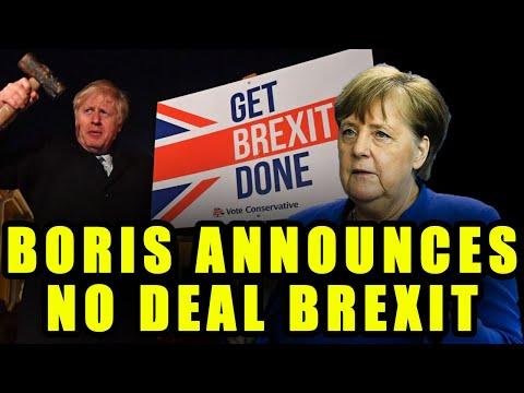 Boris FINALLY Walks Away From Brexit Talks. No Deal Confirmed.