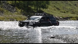 Lexus LX570 & Land Cruiser Off-Road in Mongolia